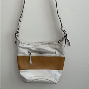 Coach rugby duffle bucket purse